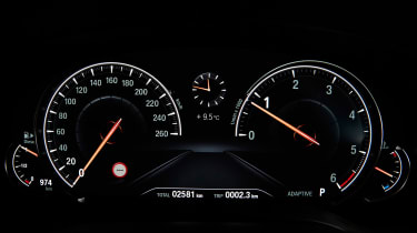 BMW 5 Series Touring - dials