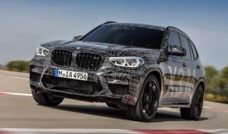 BMW X3 M Performance - front