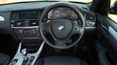 Used BMW X3 - dash