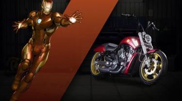 Harley Davidson Marvel Super Hero Customs - Iron Man Courage