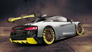 Audi R8 LMS GT2 - rear static