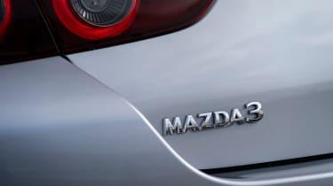 Mazda 3 saloon - badge