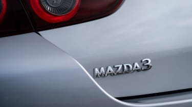 Mazda 3 saloon - badge