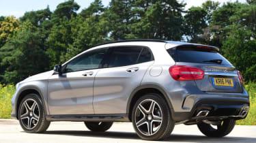 Mercedes GLA - rear static