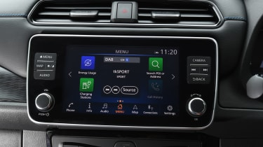 Nissan Leaf screen