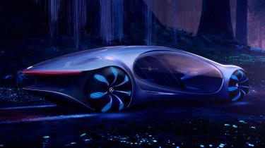 Mercedes Vision AVTR concept - rear/side