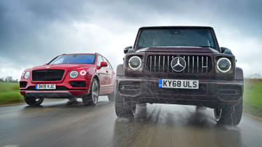 Bentley vs G 63 main image