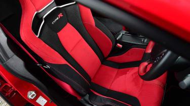 Honda Civic Type R - front seat