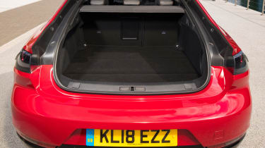 New Peugeot 508 GT 1.6 turbo boot space