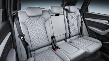 Audi Q5 SUV - rear seats