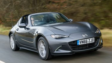 Mazda MX-5 RF 2017 1.5 UK - front tracking
