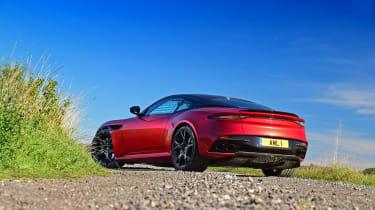 Aston Martin DBS Superleggera - rear static