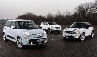 Fiat 500L vs rivals