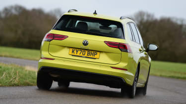 Volkswagen Golf Estate - rear cornering