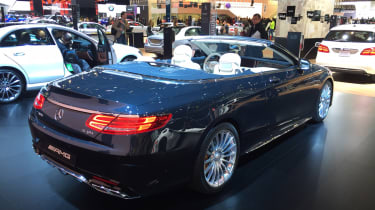 Mercedes-AMG S 65 Cabriolet show rear