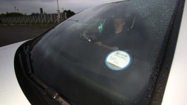 Living with an EV - VW GTE windscreen