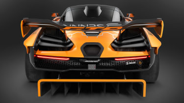 McLaren Senna GTR - full rear