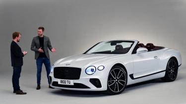 Bentley Continental GTC - studio interview