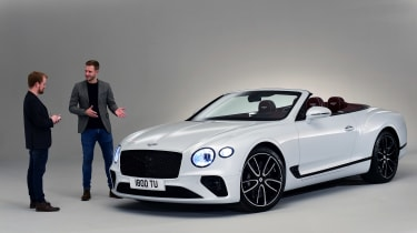 Bentley Continental GTC - studio interview