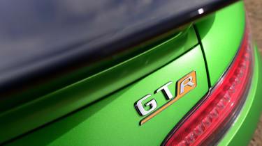 Mercedes AMG GT R - badge