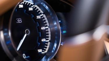 Bugatti Chiron - dial detail