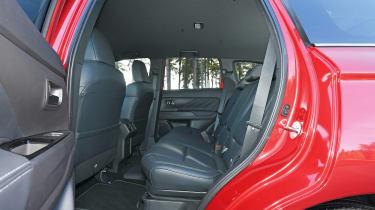 Mitsubishi Outlander PHEV - rear seats