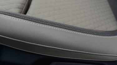 Vauxhall Grandland X long termer - fourth report seat detail