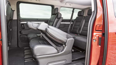Vauxhall Vivaro Life 2019 back seats folding