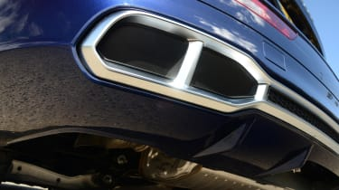 New Audi SQ5 2017 review UK - exhaust