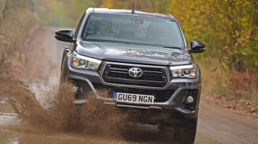 Toyota Hilux - front off-road