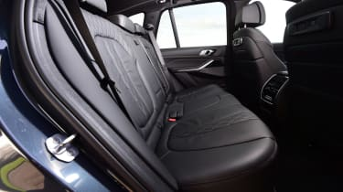BMW X5 - rear seats