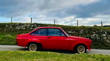 Ford Escort Mk2 - side