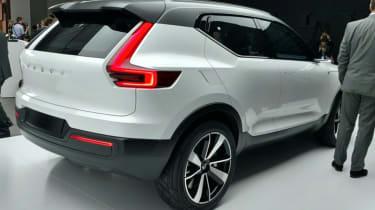 Volvo 40.1 concept - rear