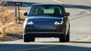 New Range Rover PHEV 2017 review - action front