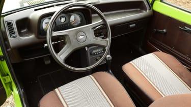 Ford Fiesta Mk1 - interior
