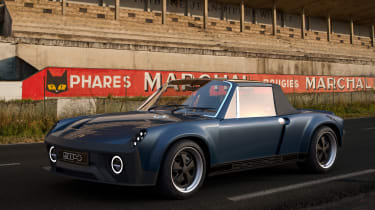 Porsche 914 reimagined - front