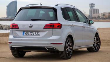 VW Golf SV - rear