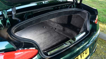 Bentley Continental GT Convertible - boot