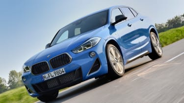BMW X2 M35i - front tracking