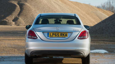 Used Mercedes C-Class Mk4 - full rear