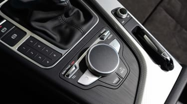 New Audi A4 2016 buttons