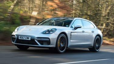 Porsche Panamera Turbo Sport Turismo - front