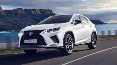 Facelifted Lexus RX - front tracking