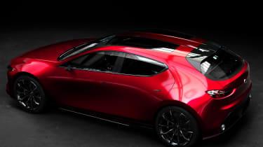 Mazda Kai concept - above