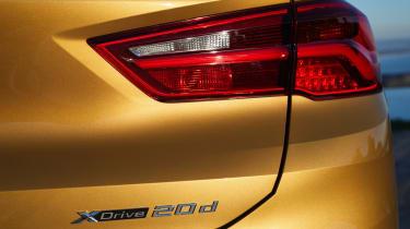 2018 BMW X2 - tail-light