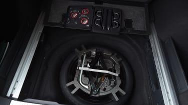 Long-term test review Volkswagen Passat Estate - spare wheel