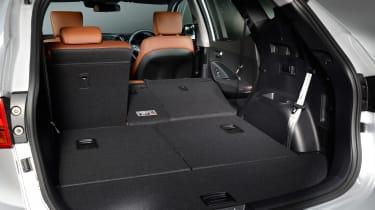 Used Hyundai Santa Fe - boot seats down