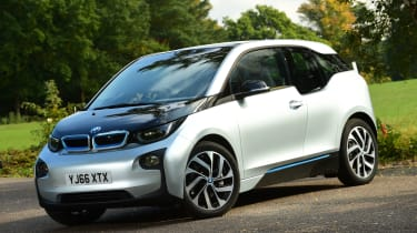 Long-term test review: BMW i3 REx front quarter