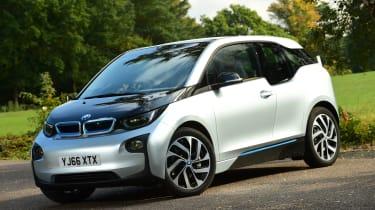 Long-term test review: BMW i3 REx front quarter
