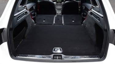 Mercedes-AMG GLC 43 - boot seats down
